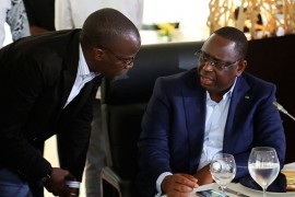 Yakham Mbaye en discussion avec Macky Sall